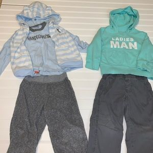 Boys Carters outfits 5 pieces 3t